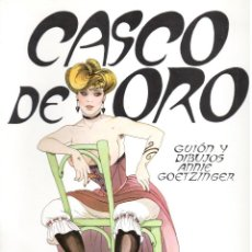 Comics: ANNIE GOETZINGER. CASCO DE ORO RUSTICA. COLECC. PAPEL VIVO EDIC. DE LA TORRE. PREMIO ANGOULEME 1977. Lote 197656202