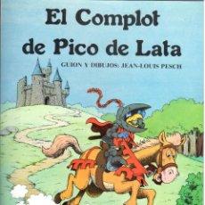 Cómics: EL COMPLOT DE PICO DE LATA. RUSTICA. COLECCION PAPEL VIVO EDICIONES DE LA TORRE.. Lote 211659191
