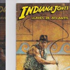 Cómics: INDIANA JONES Y LAS LLAVES DE ATLANTIS LOTE DE 4 NUMEROS.. Lote 197854302