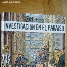 Cómics: PETILLÓN.INVESTIGACIÓN EN EL PARAÍSO.NORMA EDITORIAL.. Lote 197941535