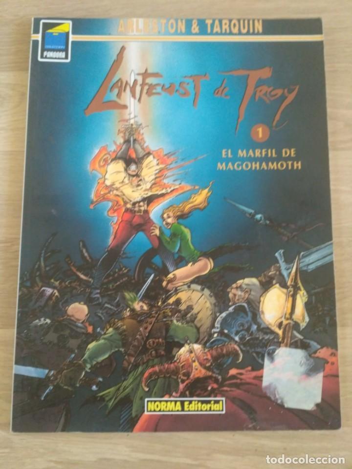 LANTEUST DE TROY 1 - EL MARFIL DE MAGOHAMOTH - ARLESTON & TARQUIN - NORMA - PANDORA Nº 58 (AH) (Tebeos y Comics - Norma - Comic Europeo)