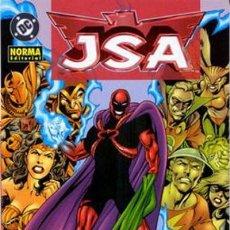Cómics: GEOFF JOHNS. J.S.A. NORMA EDITORIAL . RUSTICA. JSA TOMO 3. Lote 231369105