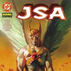 Cómics: GEOFF JOHNS. J.S.A. NORMA EDITORIAL . RUSTICA. JSA TOMO 5. Lote 231369045
