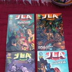 Cómics: JLA,TOMOS LA LIGA DE LA JUSTICIA DC NORMA. Lote 198554531