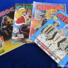 Cómics: LOTE CIMOC 5 REVISTAS Nº8-38-84-94-134 NORMA EDITORIAL AÑOS 80. Lote 198623451