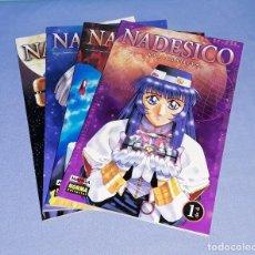 Cómics: NADESICO COMPLETA EN 4 TOMOS KIA ASAMIYA DE NORMA EDITORIAL EN EXCELENTE ESTADO ORIGINALES MANGA. Lote 198646472