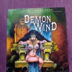 Cómics: DEMON WIND AZPIRI NORMA EDITORIAL. Lote 198773891