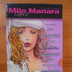 Comics: COLECCION MILO MANARA - COFRE 2 COMPLETO - NORMA - LEER DESCRIPCION (BM). Lote 199097341