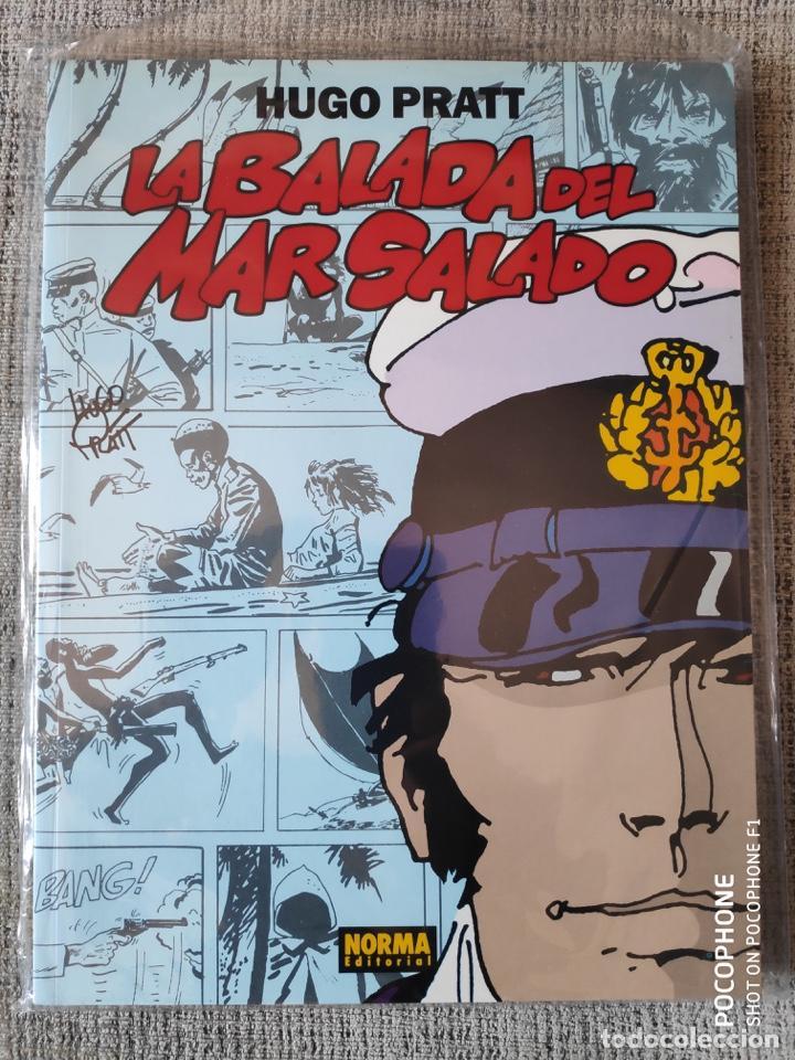 CORTO MALTÉS LA BALADA DEL MAR SALADO NORMA EDITORIAL (Tebeos y Comics - Norma - Comic Europeo)