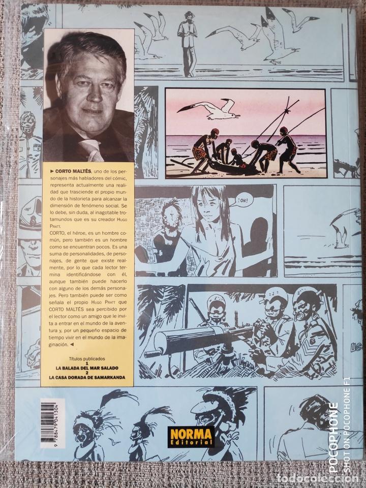 Cómics: CORTO MALTÉS LA BALADA DEL MAR SALADO NORMA EDITORIAL - Foto 2 - 199265198