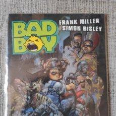 Cómics: BAD BOY FRANK MILLER Y SIMON BISLEY NORMA EDITORIAL. Lote 199267195