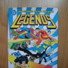 Cómics: LEGENDS NORMA EDITORIAL DC OSTRANDER WEIN BYRNE. Lote 199520156