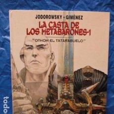 Cómics: LA CASTA DE LOS METABARONES 1: OTHO EL TATARABUELO, - MUY BUEN ESTADO. Lote 199554313