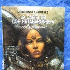 Cómics: LA CASTA DE LOS METABARONES. NÚMERO 4. TAPA DURA. - EXCELENTE ESTADO. Lote 199554323