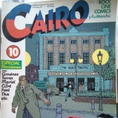 Cómics: CAIRO NÚMERO 10. Lote 199714915