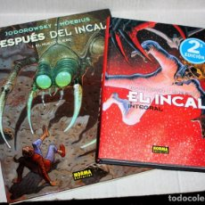 Comics: EL INCAL INTEGRAL + DESPUES DEL INCAL ( DE JODOROWSKY & MOEBIUS ). OBRA IMPRESCINDIBLE ( NUEVOS ). Lote 199806133