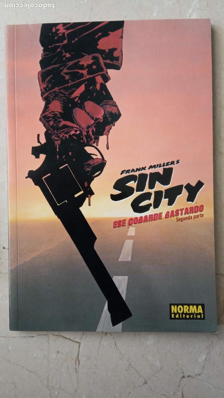 Cómics: FRANK MILLERS - SIN CITY COMPLETA - 1 A 6 - EL DURO ADIÓS, LA GRAN MASACRE, ESE COBARDE BASTARDO - Foto 7 - 199825820
