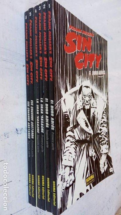 Cómics: FRANK MILLERS - SIN CITY COMPLETA - 1 A 6 - EL DURO ADIÓS, LA GRAN MASACRE, ESE COBARDE BASTARDO - Foto 8 - 199825820