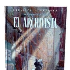 Cómics: EL ARCHIVISTA - LAS CIUDADES OSCURAS - NORMA EDITORIAL AÑO 2001. Lote 199941226