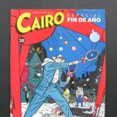 Cómics: CAIRO N.º 38 – NORMA EDITORIAL. Lote 200135510