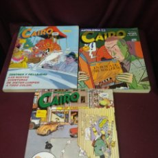 Cómics: LOTE 3 TOMOS, ANTOLOGÍA CAIRO, TOMOS 7,12 Y 13. Lote 200620026