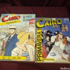 Cómics: CAIRO, 2 TOMOS PRIMAVERA 1 Y VERANO 1. Lote 200620427