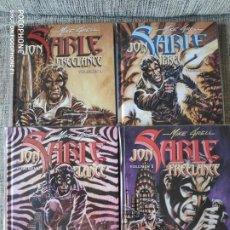 Cómics: JON SABLE FREELANCE DE MIKE GRELL COMPLETA NORMA EDITORIAL. Lote 200733425