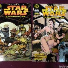 Cómics: STAR WARS EL RETORNO DEL JEDI N° 5 Y 6, NORMA. Lote 201108958