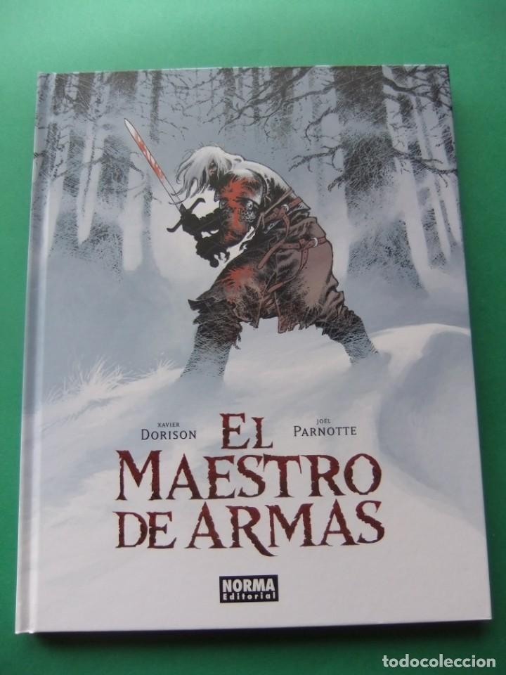 EL MAESTRO DE ARMAS NORMA EDITORIAL (Tebeos y Comics - Norma - Comic Europeo)