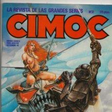 Cómics: CIMOC Nº 31. Lote 201839986