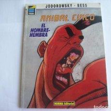 Cómics: ANIBAL CINCO EL HOMBRE-HEMBRA Nº 35-VER FOTOS. Lote 201941492