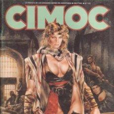 Cómics: CÓMIC CIMOC Nº 102 NORMA EDITORIAL 1989. Lote 202282982