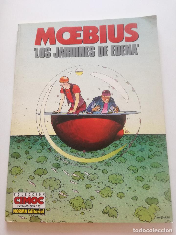 MOEBIUS - LOS JARDINES DE EDENA - COLECCION CIMOC NORMA 1990 (Tebeos y Comics - Norma - Cimoc)