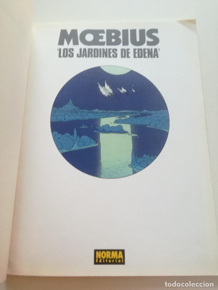 Cómics: MOEBIUS - Los Jardines De Edena - COLECCION CIMOC NORMA 1990 - Foto 2 - 202419320