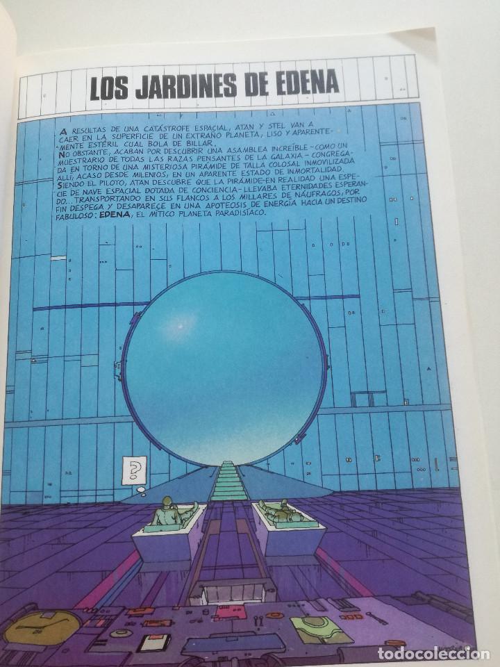 Cómics: MOEBIUS - Los Jardines De Edena - COLECCION CIMOC NORMA 1990 - Foto 4 - 202419320