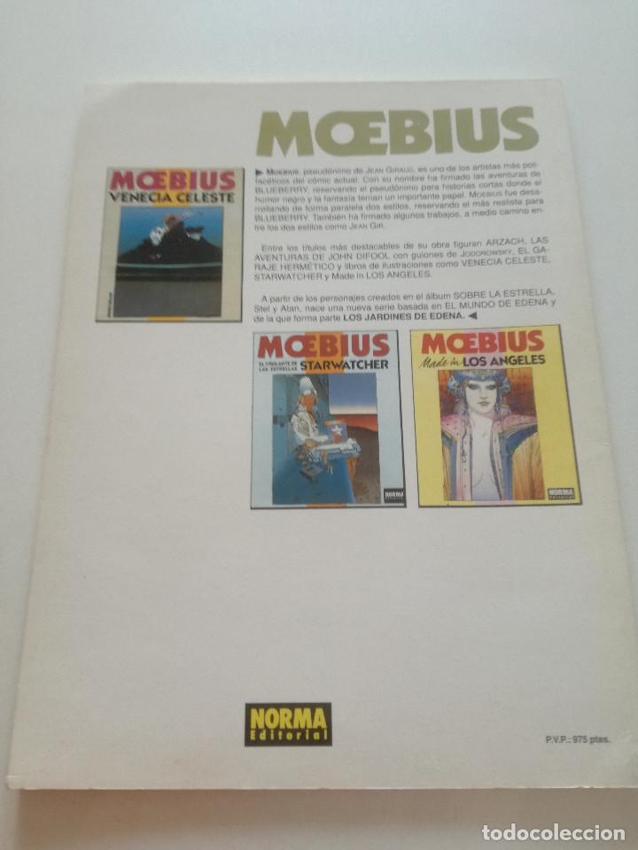 Cómics: MOEBIUS - Los Jardines De Edena - COLECCION CIMOC NORMA 1990 - Foto 5 - 202419320