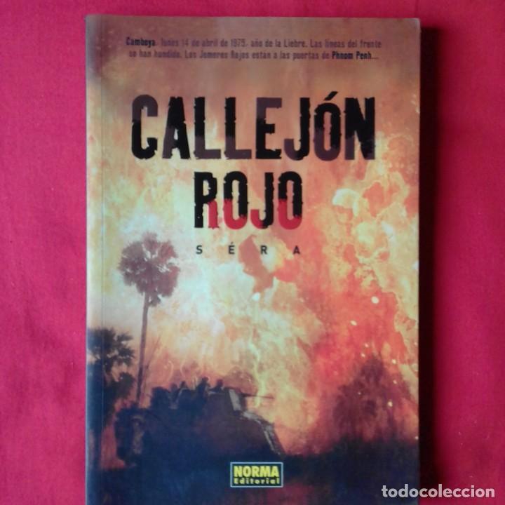 CALLEJON ROJO. SERÁ. NORMA EDITORIAL 2004 (Tebeos y Comics - Norma - Otros)