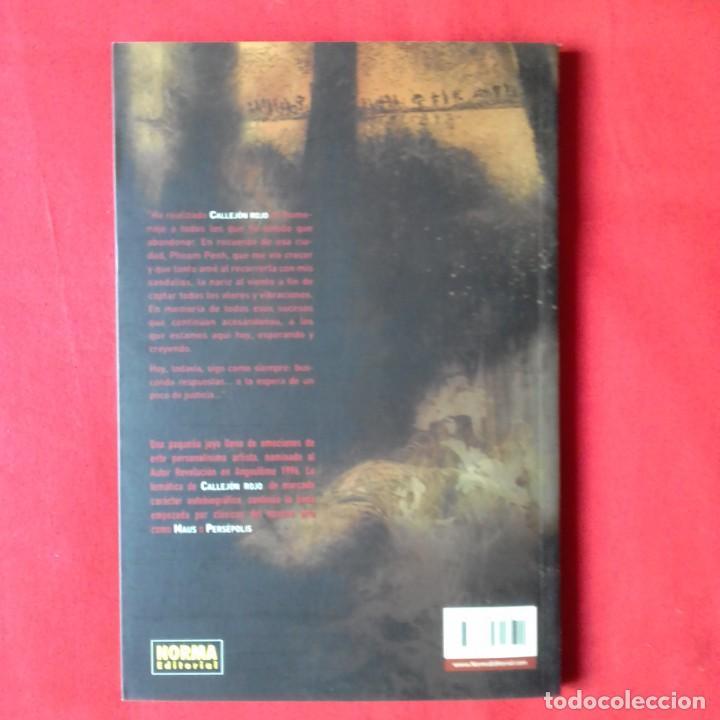 Cómics: CALLEJON ROJO. SERÁ. NORMA EDITORIAL 2004 - Foto 2 - 202478567