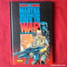 Cómics: MARTHA WASHINGTON GOES TO WAR. FRANK MILLER DAVE GIBBONS NORMA EDITORIAL 2005 TAPA DURA. Lote 202478976