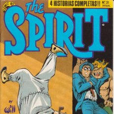 Cómics: CÓMIC ´ THE SPIRIT ´ Nº 31 BY WILL EISNER COMIC BOOKS NORMA 1989. Lote 202588682