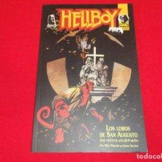 Comics: HELLBOY. LOS LOBOS DE SAN AUGUSTO .NORMA EDITORIAL. 1995. C-41. Lote 202629498