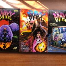 Cómics: THE MAXX COMPLETA EN 3 TOMOS. Lote 202752941