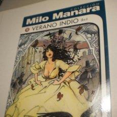 Cómics: MILO MANARA 10. VERANO INDIO. NORMA 1999 (SEMINUEVO). Lote 203169991