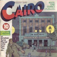 Cómics: CAIRO - Nº 10 - NORMA EDITORIAL PARA ADULTOS - AÑO 1982. Lote 203407041