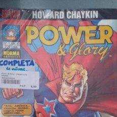 Cómics: POWER&GLORY COMPLETA/ AMERICAN PERDIDO EN AMERICA COMPLETA. Lote 203470811