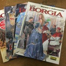Cómics: LOS BORGIA (JODOROWSKY / MANARA) - COMPLETA, 4 TOMOS. Lote 203894450
