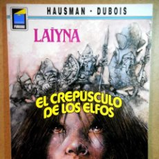 Fumetti: LAÏYNA : EL CREPÚSCULO DE LOS ELFOS. Lote 203959786