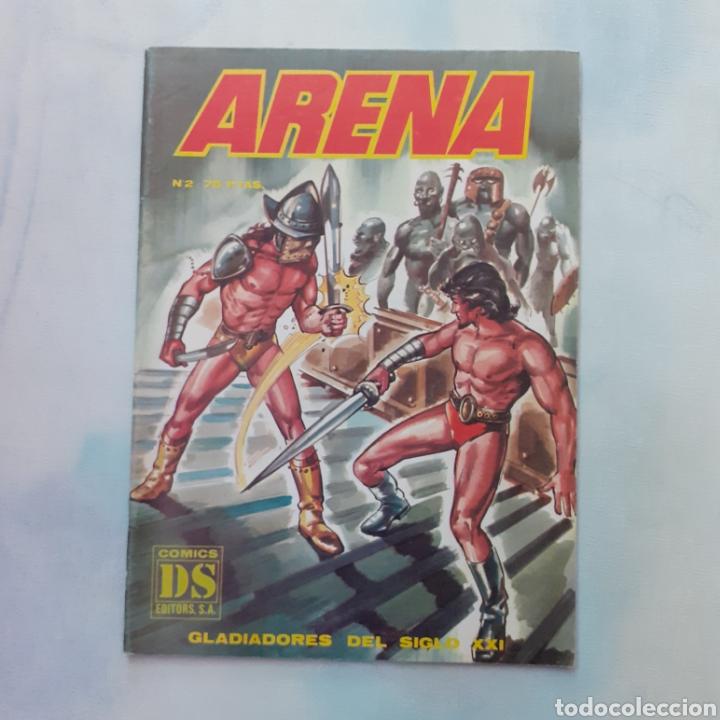 ARENA. N° 2. 1981. GLADIADORES DEL SIGLO XXI. CÓMICS DS. (Tebeos y Comics - Norma - Otros)