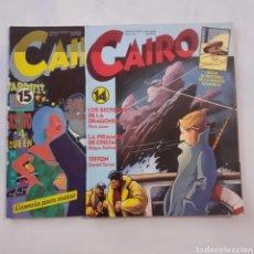 Cómics: CAIRO. N° 14 Y 15. NORMA. 1982. BUEN ESTADO.. Lote 204024121