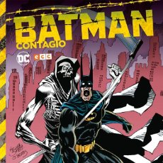 Cómics: BATMAN CONTAGIO. OBRA COMPLETA. TAPA DURA ECC. Lote 273984023